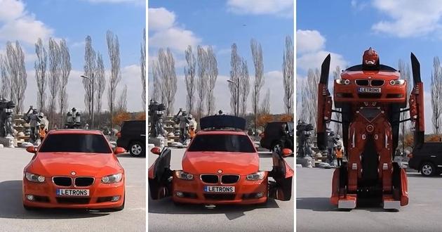 Türk Mühendislerin Tasarladığı Gerçek Bir BMW Transformers