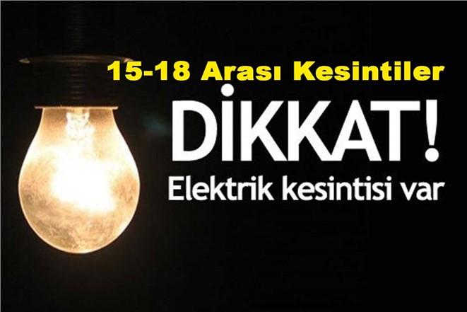 Dikkat Elektrik Kesintisi: Tarsus'ta Gün ve Saatleri İle Elektrik Kesintileri