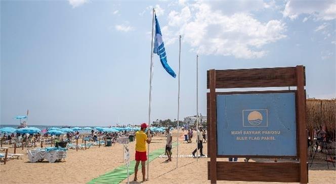 Büyükşehir'in Plajlarında Mavi Bayrak Sayısı 3'e Ulaştı