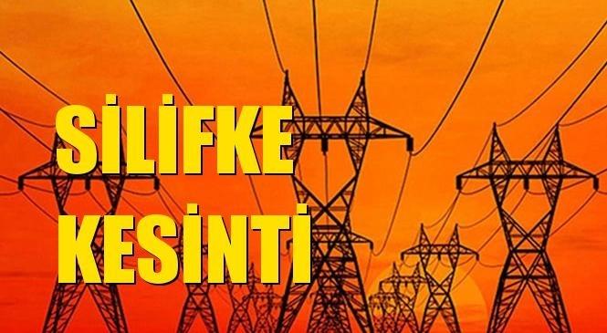 Silifke Elektrik Kesintisi 15 Eylül Çarşamba