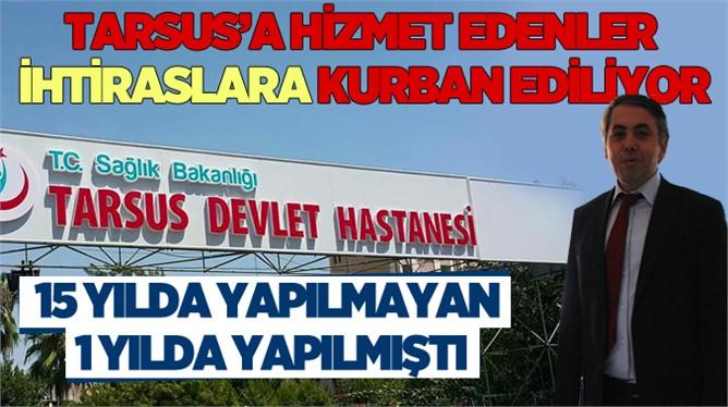 Tarsus'ta Dr. Mehmet Sarı'nın Ani İstifası Ortalığı Karıştırdı
