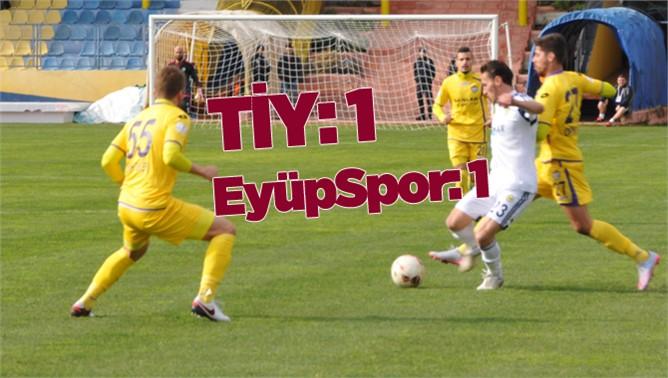 Tarsus İdmanyurdu 1-Eyüpspor 1