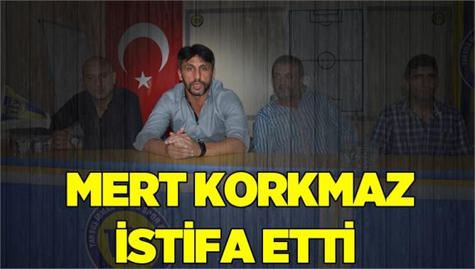 Tarsus Teknik Direktörü Mert  Korkmaz İstifa Etti