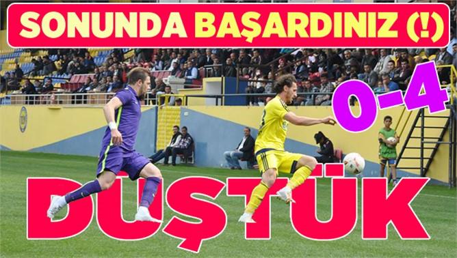 Tarsus İdmanyurdu 0-Keçiörengücü 4