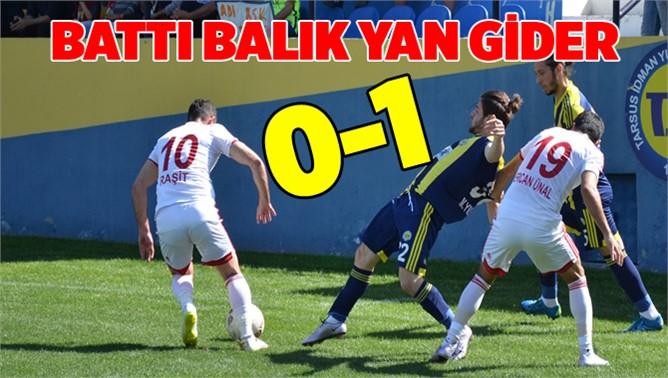 Tarsus İdmanyurdu 0-Gümüşhane 1