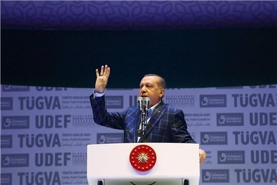 """Cumhurbaşkanı Erdoğan: """"Kandan beslenen birileri varsa CHP zihniyetidir"""""""