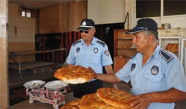 Tarsus'ta Fırın Denetimi Yapıldı