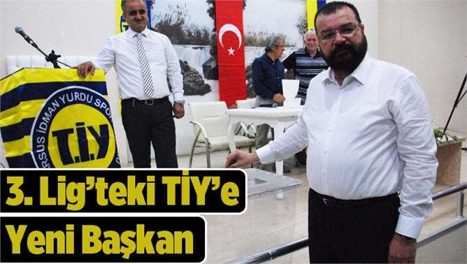 Tarsus İdmanyurdu Kulübün Yeni Başkanı Önder Ege Oldu