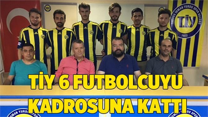 Tarsus İdmanyurdu 6 Futbolcuyla Masaya Oturdu