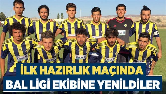 Tarsus İdmanyurdu ilk hazırlık maçında Nevşehir Spor'a 2-1 yenildi