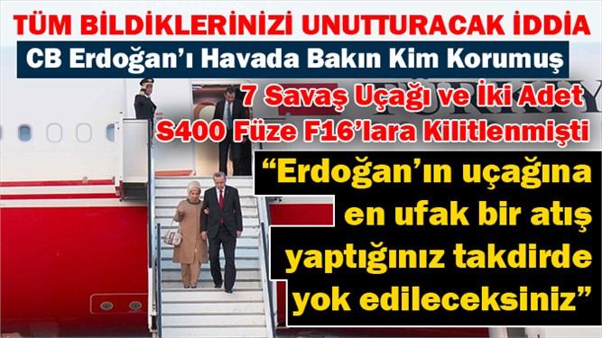 Darbe Girişimin Olduğu Gece, CB Erdoğan'ı Bakın Havada Kim Korumuş..