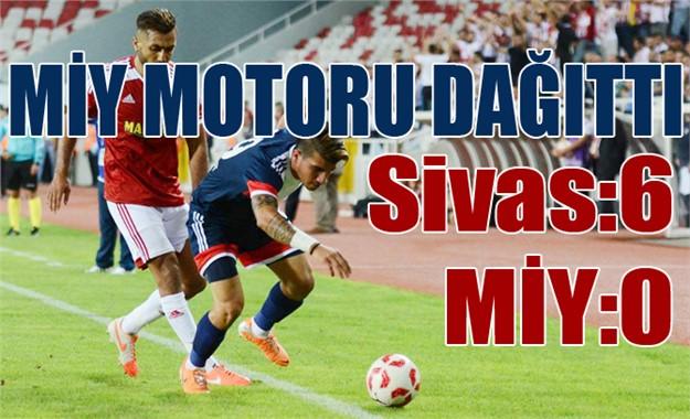 Sivasspor 6-0 Mersin İdmanyurdu