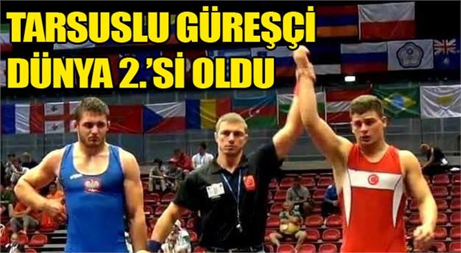 Tarsuslu güreşçi Osman Göçen Dünya 2.si oldu