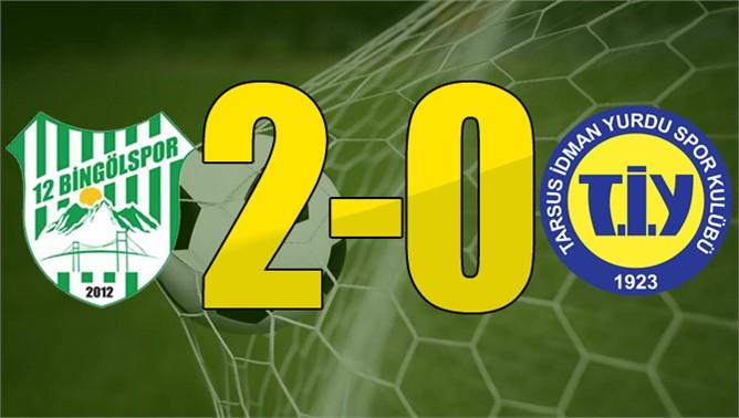 12 Bingölspor 2-0 Tarsus İdman Yurdu