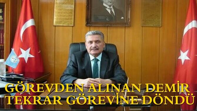Ahmet Sefa Demir Görevine Döndü