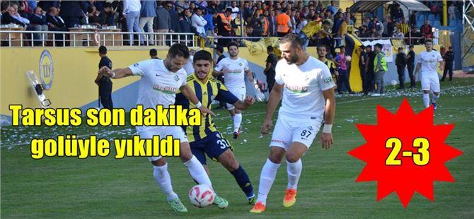 Tarsus İdmanyurdu 2-Sakaryaspor 3