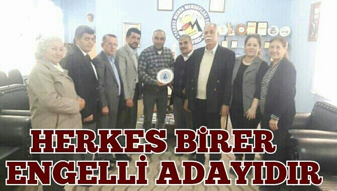 Tarsus'taki  Engelli STK Temsilcileri Medya ile Buluştu