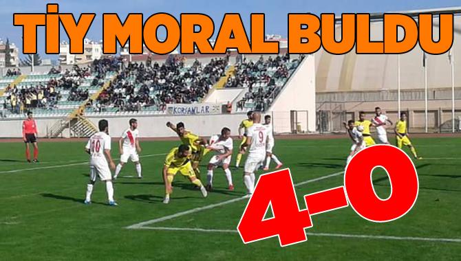 Tarsus İdmanyurdu 4-Denizli B. Belediyespor 0