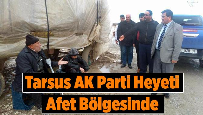 Tarsus AK Parti Heyeti, Selden Zarar Gören Bölgeleri Gezdi