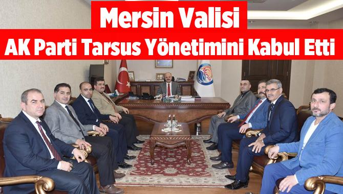AK Parti Tarsus Yönetiminden Mersin Valisine Ziyaret