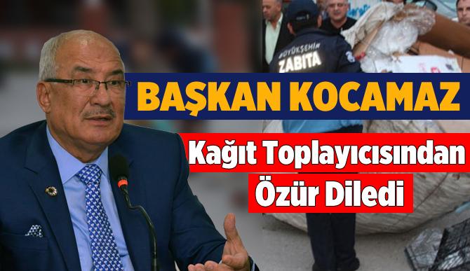 Burhanettin Kocamaz'dan Zabıta Şiddetine Özür Geldi