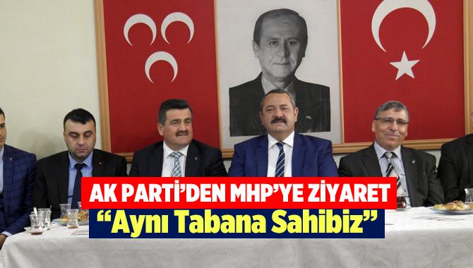 AK Parti'den MHP Teşkilatına Ziyaret