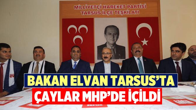 Kalkınma Bakanı Lütfi Elvan, Tarsus'ta