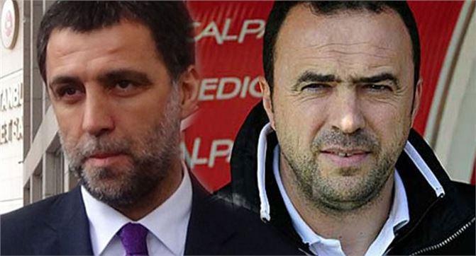 Galatasaray, Hakan Şükür ve Arif Erdem'i ihraç etti
