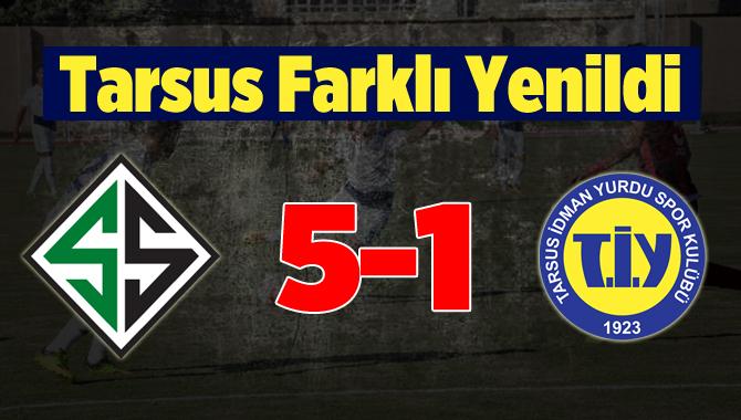 Sakaryaspor-Tarsus İdmanyurdu: 5-1