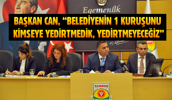 Tarsus Belediye Meclisi Nisan Ayı Toplantısı Yapıldı