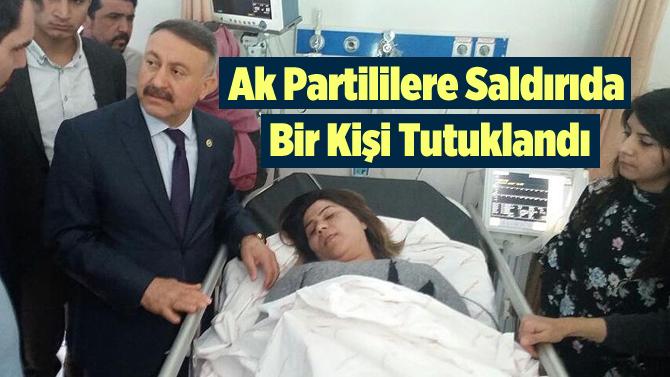Tarsus'ta AK Parti'li Gruba Saldırıyla İlgili 1 Kişi Tutuklandı
