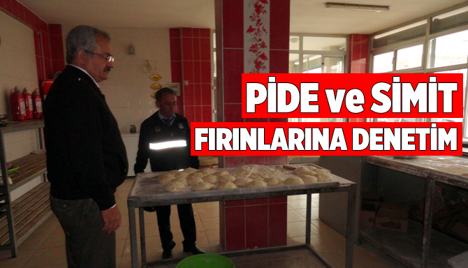 Tarsus Belediyesinden Pide Pişirim Ve Simit Fırınlarına Denetim