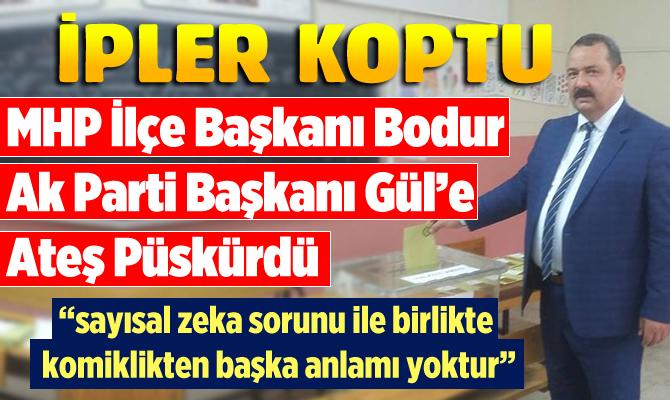 Tarsus'ta MHP-AK PARTİ Arasında Oy Verme Tartışması Büyüyor