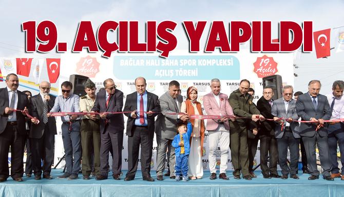 Tarsus Belediyesi 19. Açılışı Gerçekleştirdi