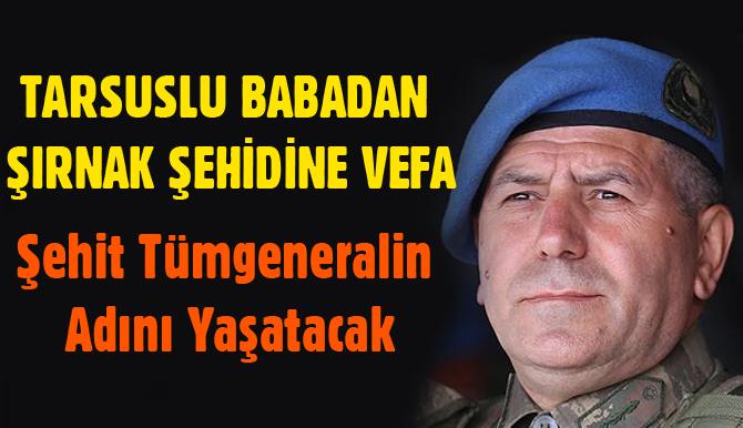 Tarsuslu Baba Doğan Çocuğuna Şehit Tümgeneral Aydoğan Aydn'ın Adını Verdi