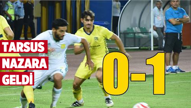 Tarsus İdmanyurdu 0-Osmaniyespor 1