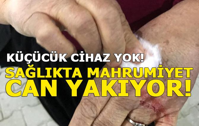 Tarsus'ta Sağlık Alanında Mahrumiyet! Küçücük Cihaz Yok!