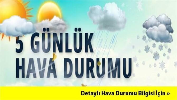 Tarsus'un 5 Günlük Hava Tahmini