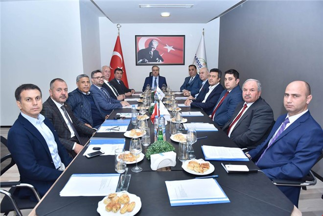 Tarsus Gıda İhtisas OSB Yönetim Kurulu Toplandı