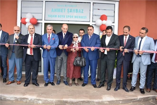 Spor Merkezine Eski Meclis Üyesi Ahmet Şahbaz'ın İsmi Verildi
