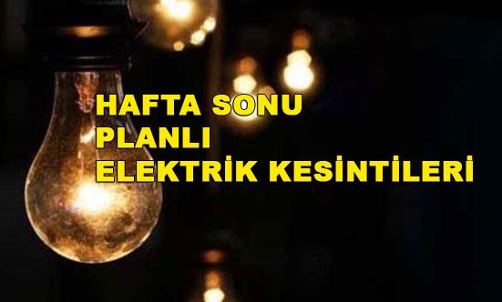 Tarsus 3-4 Mart 2018 Elektrik Kesintileri