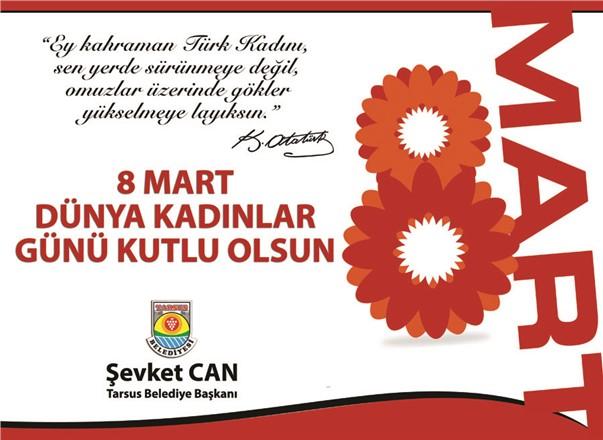 """Başkan Can, """"8 Mart Dünya Kadınlar Günü'nü Adına Yakışır Şekilde Kutlayacağız"""""""