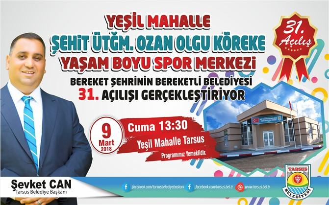 Şehit Ozan Olgu Köreke Yaşam Boyu Spor Merkezi 9 Mart Cuma Günü Açılıyor