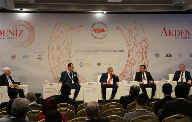 Tarsus TSO Başkanı Koçak İnovatif Tarım ve Gıda Oturumunda Konuştu
