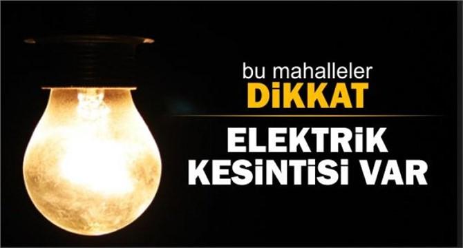 Tarsus'ta Elektrik Kesintisi, 10-13 Mart 2018 Tarihleri Kesintileri