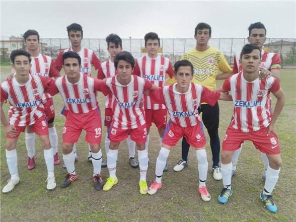 Zekalift Reşadiyespor  U17  Takımı Berdansporu Yendi
