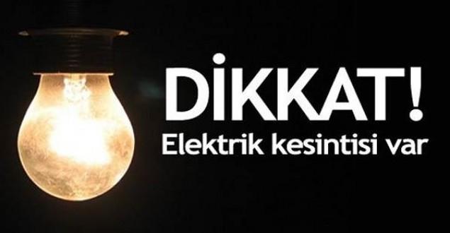 Tarsus'ta Cuma Günü Elektrik Kesintisi Yapılacak Yerler