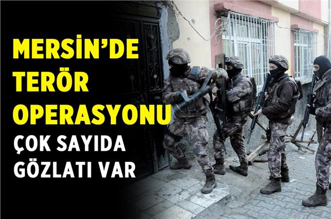 Tarsus'ta Terör Örgütü Operasyonu