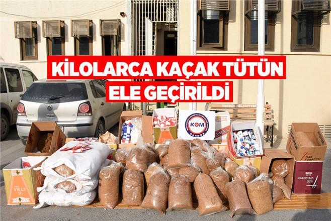 Tarsus'ta Kaçak Tütün Operasyonu
