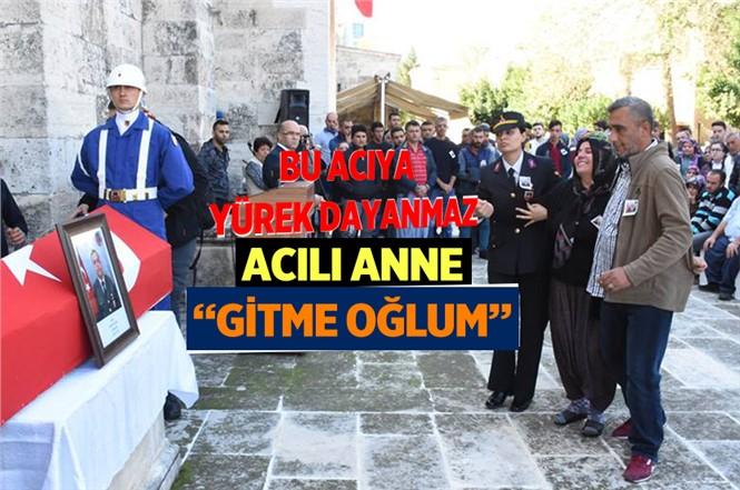 Rahatsızlık Sonusu Hayatını Kaybeden Uzman Çavuş Mustafa Hoş Tarsus'ta Toprağa Verildi